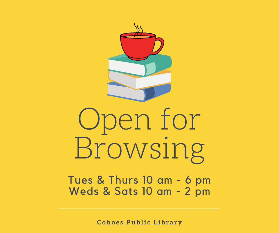 Library Open for Browsing